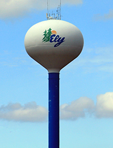 The Ely Water Tower