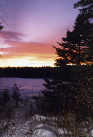 Lark Lake Sunset
