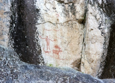 Hegman Lake Pictographs web