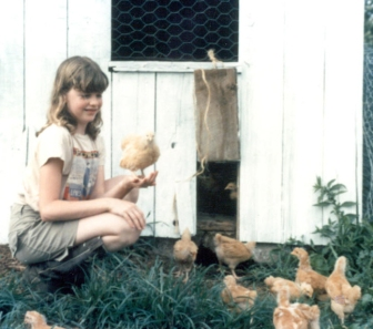 Julie and Chicks